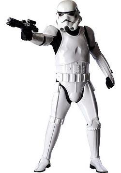 Disfraz de Stormtrooper auténtico de la edición suprema