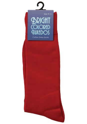 Calcetines rojos para hombre