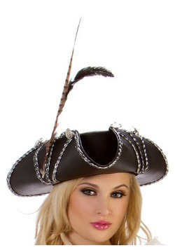 Sombrero pirata rojo