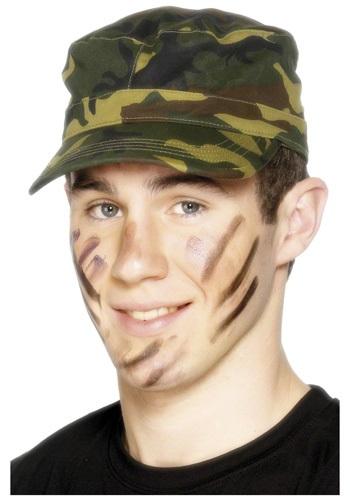 Gorra de camuflaje verde del ejército