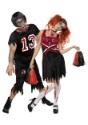 Imagen de pareja de disfraz de animadora Zombie