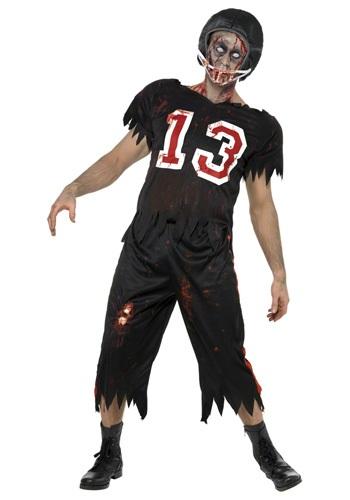 Disfraz de jugador de fútbol zombi