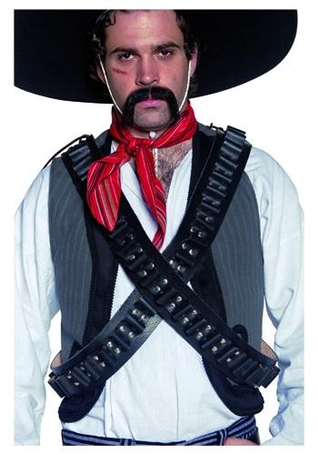 Cinturón de balas bandolero del Oeste