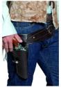 Cinturón de pistolero del Oeste