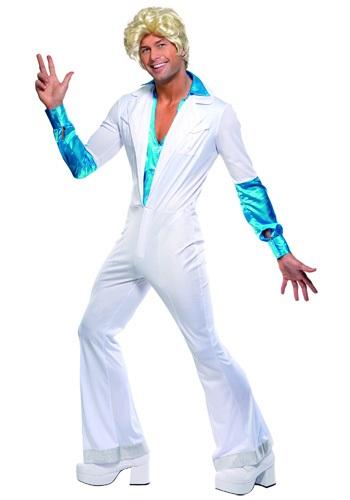 Disfraz de hombre disco de los años 70