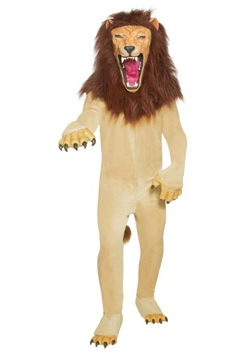 Disfraz de león de circo