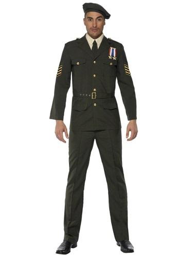 Disfraz de Oficial Wartime para Hombre