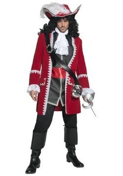 Disfraz de Pirata Capitán Majestuoso para hombre