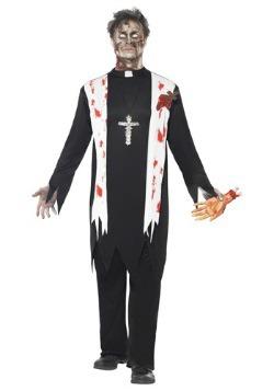 Disfraz de cura zombi