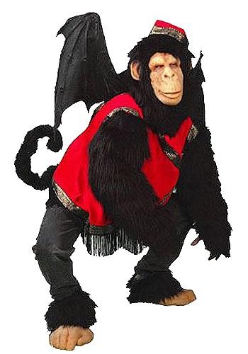 Disfraz de mono volador de lujo