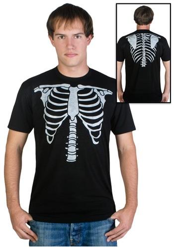 Camiseta de disfraz de esqueleto para hombre