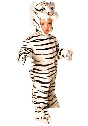 Disfraz de tigrito blanco