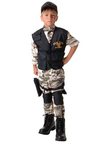 Disfraz infantil de equipo SEAL