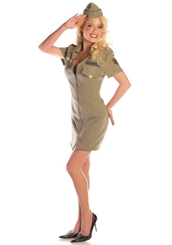 Disfraz militar de piloto sexy