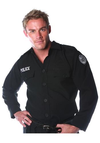 Camisa de policía para hombre