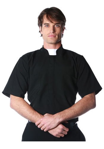 Camisa de sacerdote talla extra