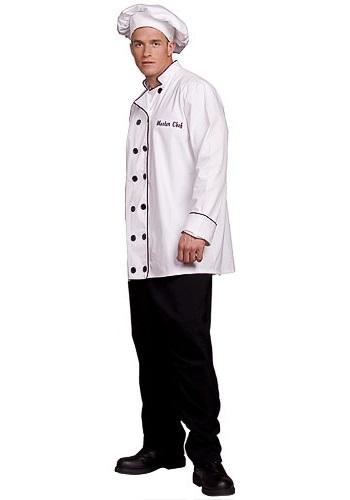 Disfraz de chef para hombre