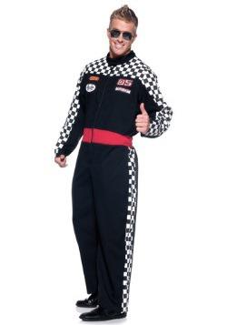 Disfraz de conductor de carro de carreras para hombre