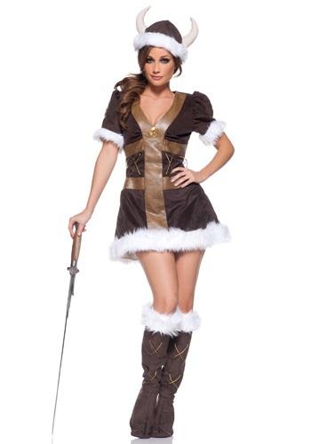 Disfraz de princesa vikingo