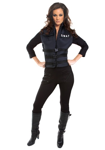 Disfraz de chica SWAT sexy