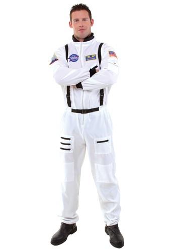 Disfraz de astronauta blanco para hombre