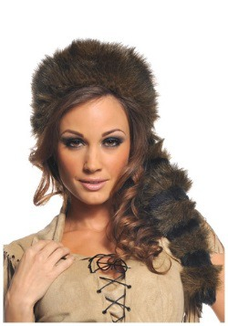 Sombrero de cola de mapache