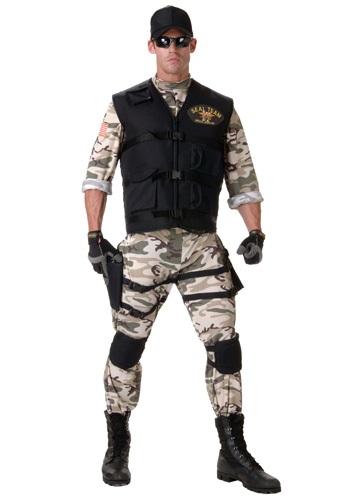 Traje de equipo SEAL adulto