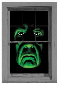 Panel para ventana de demonio verde