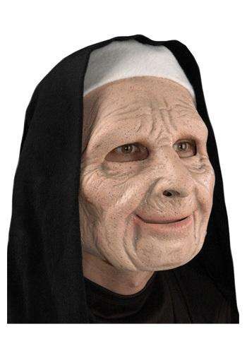 Máscara de monja aterradora