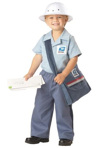 Disfraz de cartero para niños pequeños
