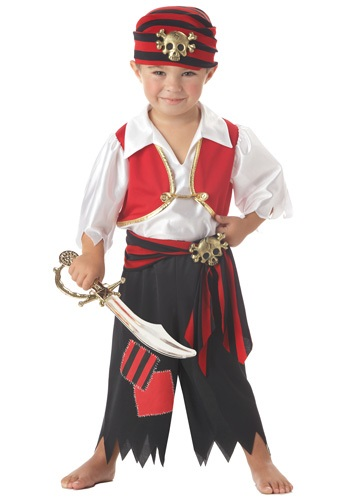 Disfraz Ahoy Matey Pirata para niños pequeños