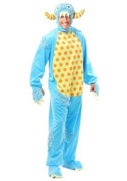 Disfraz de monstruo azul para adulto