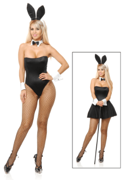 Disfraz de conejita sexy jueguetona