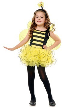 Disfraz de abeja dulce para niños