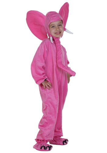 Disfraz infantil de elefante rosa