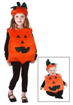 Disfraz de calabazas naranja para niños pequeños