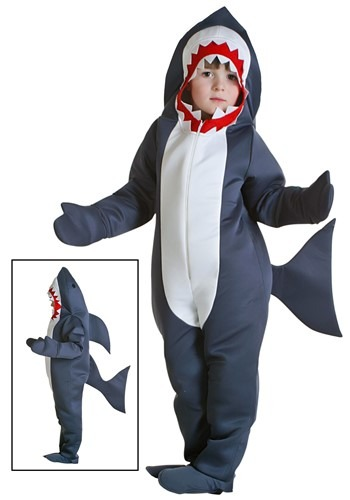 Disfraz de tiburón para niños pequeños