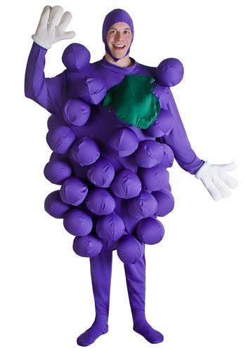 Disfraz de uvas moradas