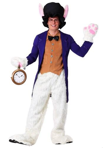 Disfraz de conejo blanco talla grande