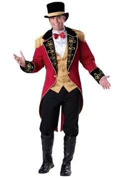 Disfraz de maestro de ceremonias Elite para hombre