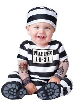 Disfraz de prisionero para bebé