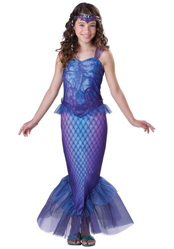 Disfraz de sirena misteriosa tween
