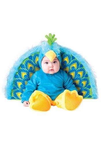 Disfraz de precioso pavo real para bebé