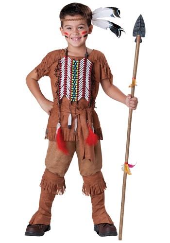 Disfraz de niño indio valiente