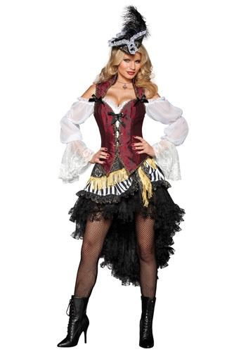 Disfraz de pirata sexy de alta mar