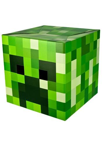 Cabeza de Creeper de Minecraft