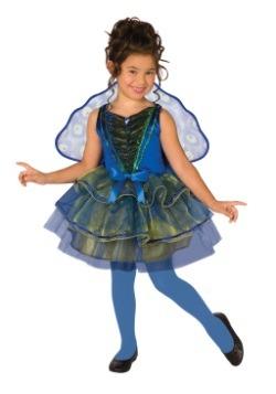 Disfraz de pavo real infantil
