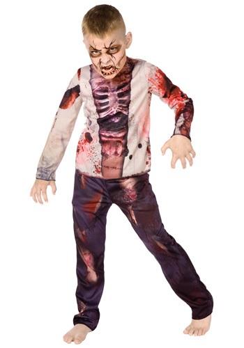 Disfraz de zombi para niño