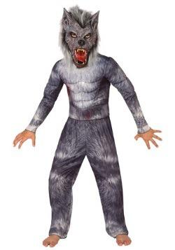 Disfraz de hombre-lobo para niño
