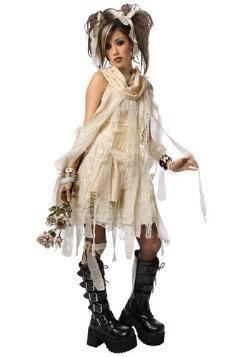 Disfraz de momia gótica talla extra